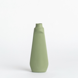 Bottle Vase #4 Dark Green - Foekje Fleur