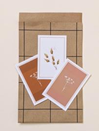 Set van 5 Cadeau-Labels Botanisch - Artwork by Madelon