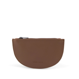 Half Moon Wallet Chestnut - Monk & Anna