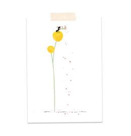 Postkaart Confetti Mier - A Tiny Cheer