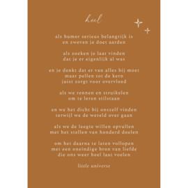 A4 Prent Heel - Little Universe