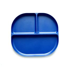 Bamboe Vakjesbord Blauw - Ekobo