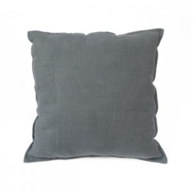 Linnen Kussenhoes Egg Blue - Timeless Linen