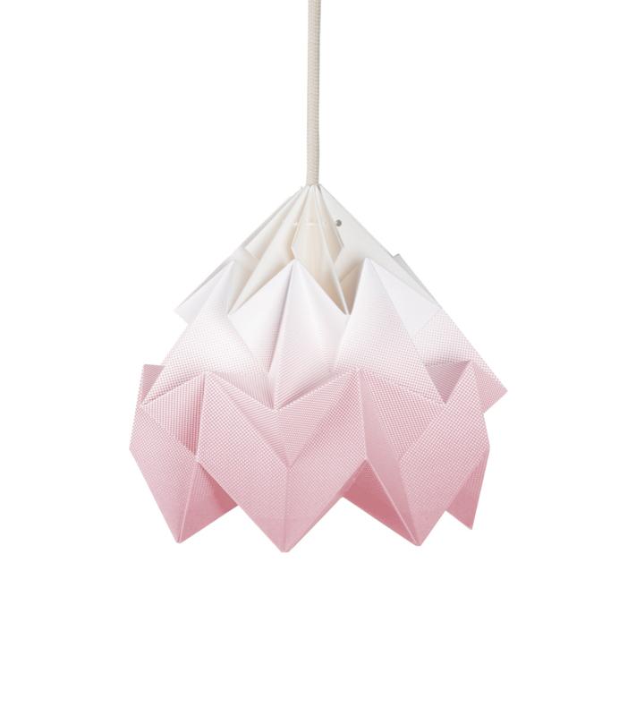 Hanglamp Moth gradiënt roze - Studio Snowpuppe