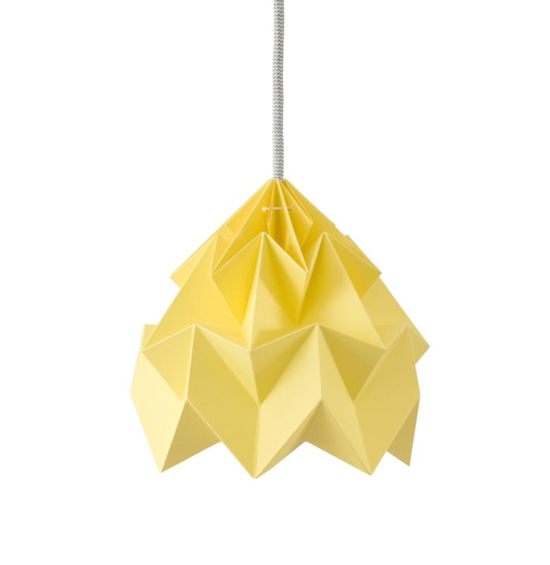 Hanglamp Moth geel - Studio Snowpuppe