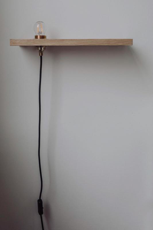 Wandplank Met Lamp.Plaenk Wandplank En Lamp Aedam Anthony Aedam Anthony L