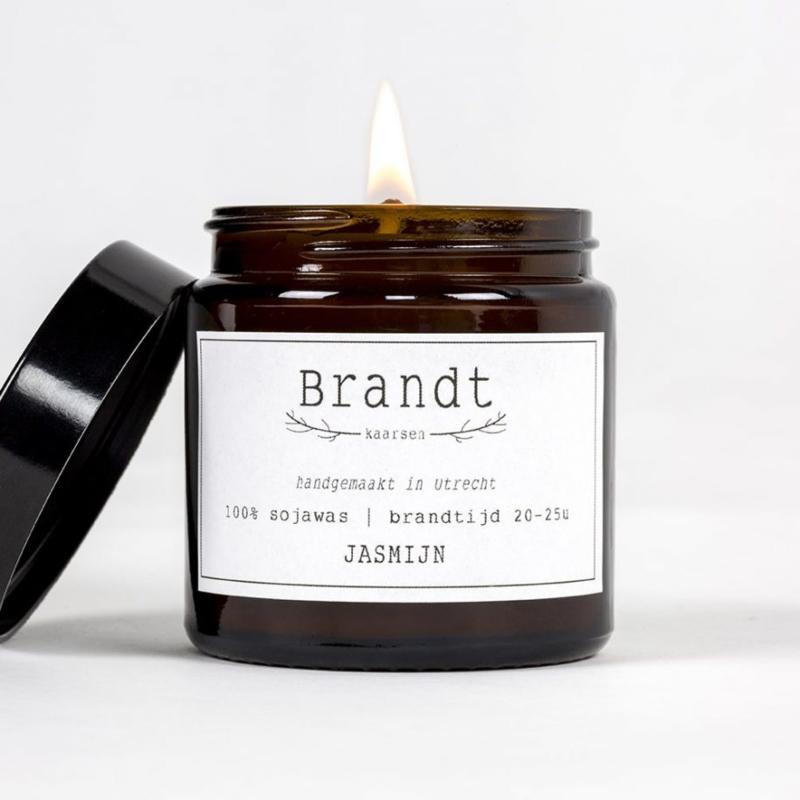 Apotheek kaars Jasmijn - Brandt Kaarsen