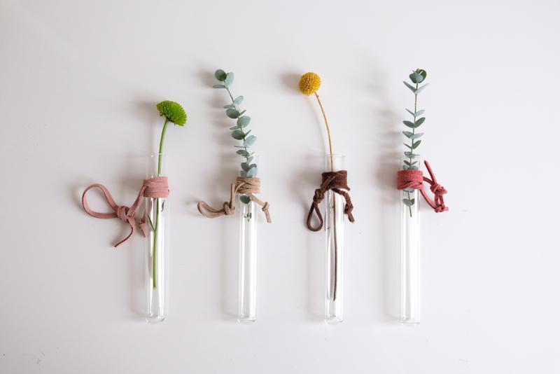 Testtube vase - Rescued