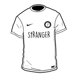 Yung Petsi x Nike x Stranger - Home Shirt (Classic Logo)