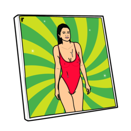 Canvas Selena