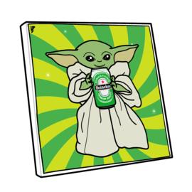 Canvas Baby Yoda