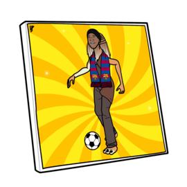 Canvas Jar Jar Ronaldinho