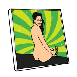 Canvas Monica