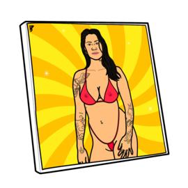 Canvas Bikini