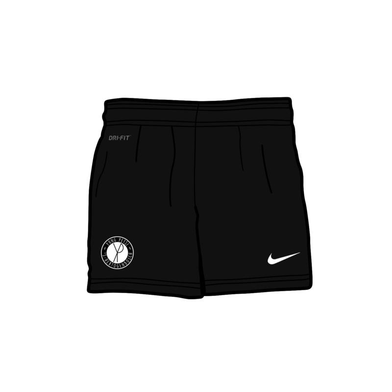 Yung Petsi x Stranger - Away Shorts (Nike, geborduurd logo)