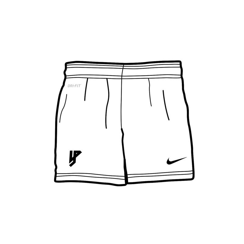 Yung Petsi x Nike - Logo - Home Shorts