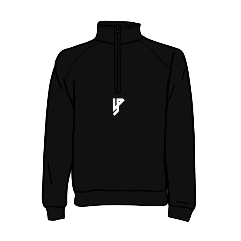 Yung Petsi Logo Ontzettende Zipped Crewneck