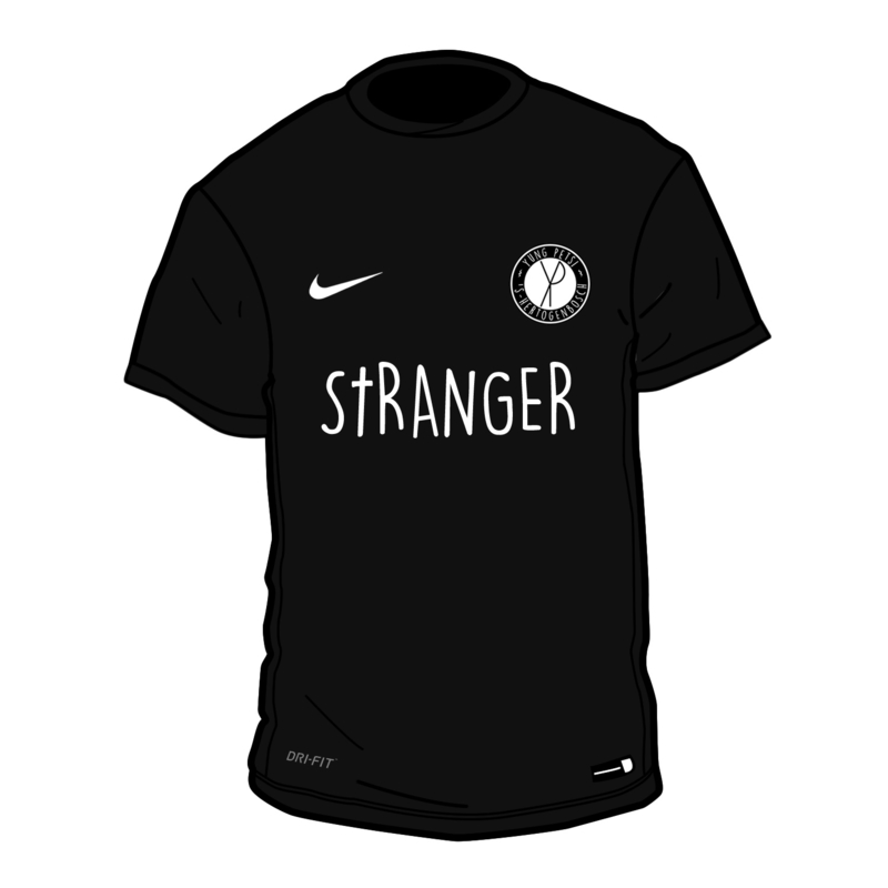 Yung Petsi x Stranger - Away Shirt (Nike, geborduurd logo)