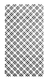Blue Marine Coral Grid - 26 x 51,5 cm