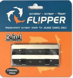 Flipper Reserve Mesjes Standaard RVS 2x