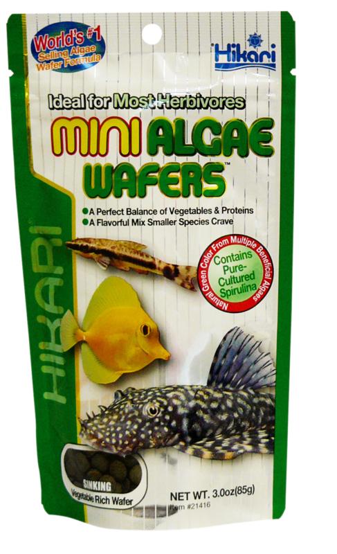 Hikari Mini Algae Wafers - 22gr-1kg