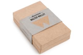 Walter Wallet Aluminium Black