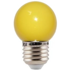 doos á 100 stuks LED lamp geel