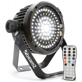 BeamZ BS98 stroboscoop met 98 felle led's en dmx