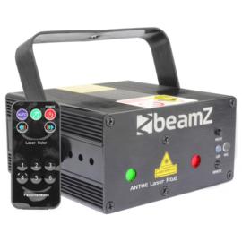 Beamz RGB laser 600mW met afstandbediening