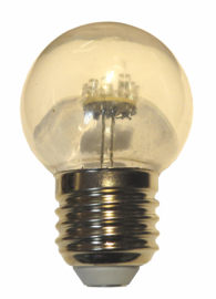 doos á 100 stuks LED lamp helder 0,7watt warmwit 2000K
