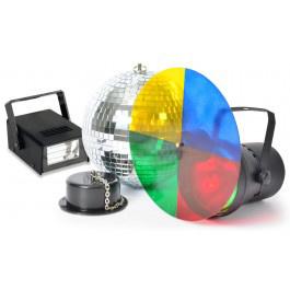 Disco partyset met stroboscoop