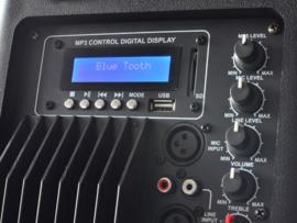 Actieve speaker 600watt met bluetooth
