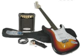 Complete electrische gitaarset