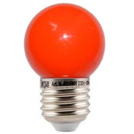 10 stuks LED lamp rood