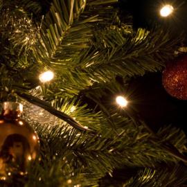 Kerstverlichting 10 meter met 100 warmwitte leds koppelbaar