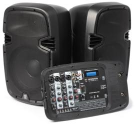 Pss-300 mobiele geluidsinstallatie