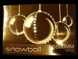 Snowball 8cm 5 stuks