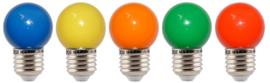 10 stuks LED lamp mix van 5 kleuren