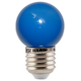 doos á 100 stuks LED lamp blauw