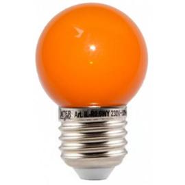 doos á 100 stuks LED lamp oranje