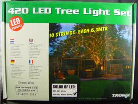 boomverlichting 63meter LED koudwit