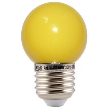 10 stuks LED lamp geel