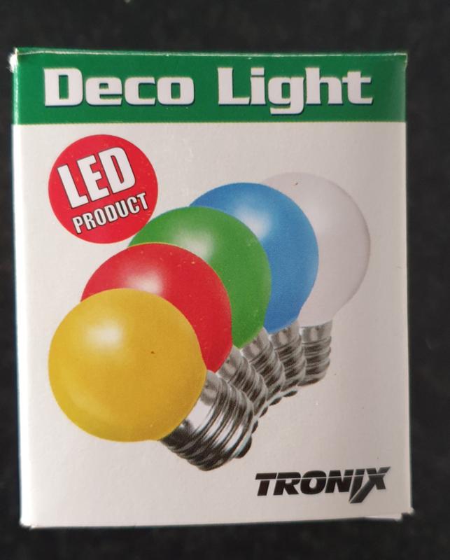 10 stuks LED lamp groen