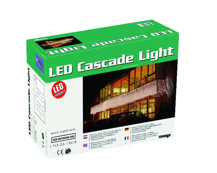 LED gordijn Cascade 260 x 150cm koppelbaar