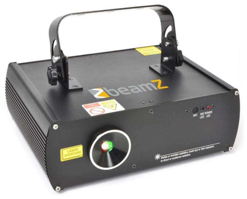 3D rode en groene laser DMX