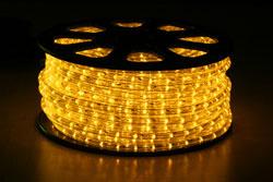 230volt Led Lichtslang geel
