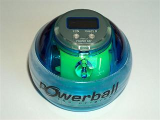 PowerBall blue light incl. speedmeter