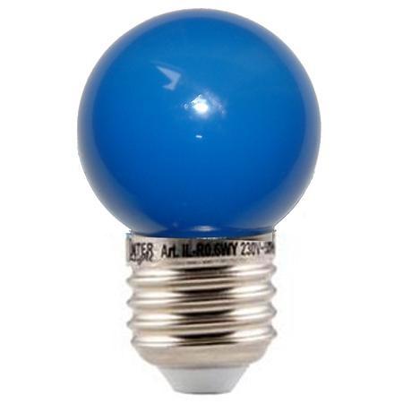 10 stuks LED lamp blauw
