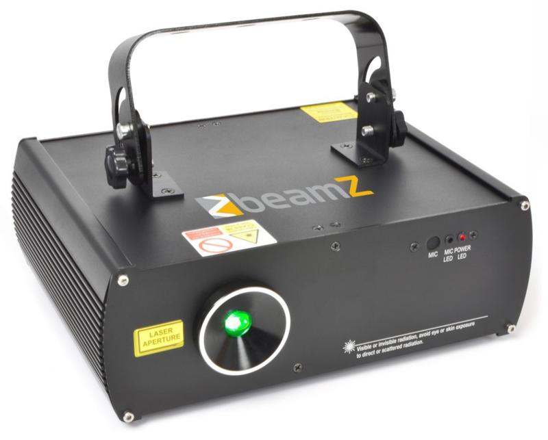 3D laser groen DMX