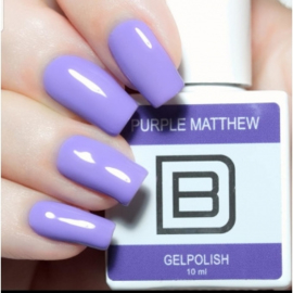 By Djess gelpolish 43 Purple Matthew 10ml